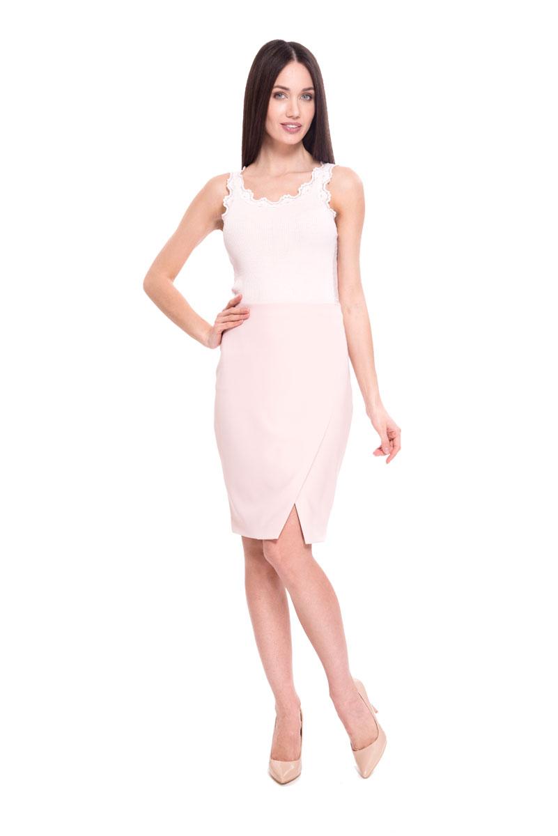 Юбка Lusio, цвет: розовый. SS18-030012. Размер XS (40/42)
