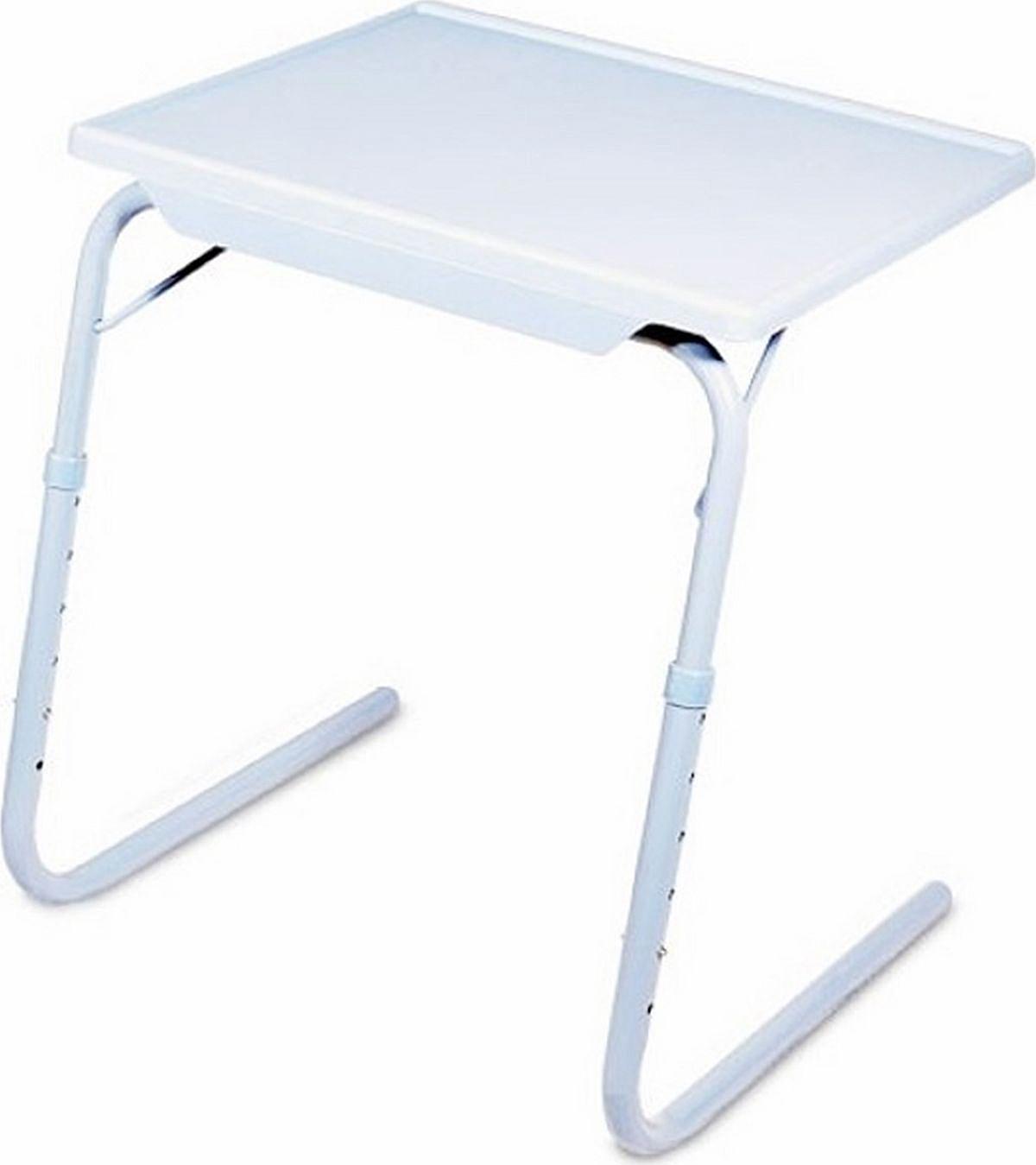 Организовать стационарное удобное место для работы или еды бывает сложно: ограниченность пространства, дети, которым сложно объяснить, что на столе ничего не нужно трогать, желание поработать на свежем воздухе или лежа в кровати. Столик раскладной «Комби» - легкая складная конструкция которая имеет шесть уровней высоты и три варианта угла наклона столешницы. Вы быстро подберете нужную для каждого случая комбинацию! Столик раскладной «Комби» позволит обустроить место работы, еды и отдыха взрослым и организовать пространство для игры и занятий детям. Столик раскладной «Комби» поможет удобно устроить гостей. «Комби» компактно складывается и занимает мало места в багажнике автомобиля – удобно брать в поездки и на пикник. Столик раскладной «КОМБИ» быстро складывается – после использования его можно спрятать под диван и освободить пространство комнаты. На столешнице «Комби» отлично размещается ноутбук и достаточно места для ужина сидя на диване, можно собирать пазлы и играть в настольные игры. Особенность столика в том что в нем крючки-кронштейны металлические, что позволяет выдерживать вес до 17 кг. Размер столешницы: 53х40 см Высота от пола, 6-уровневая: 52,5; 56; 59,5; 63; 66,5; 70 см Угол наклона, 3-позиционный: 0, 22, 45 градусов Вес: 2,1 кг. Инструкция на русском языке.