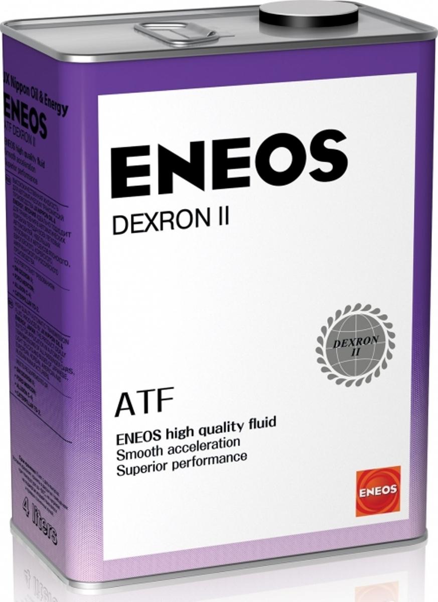 Масло трансмиссионное ENEOS ATF Dextron-II, для АКПП, синтетическое, 4 лoil1304ENEOS Dexron II используется в автоматических коробках передач и в системах гидроусилителя руля современных автомобилей. Пригодна для большинства трансмиссий с сервоприводом, систем гидроусилителя руля и гидроприводов. Соответствует самым последним требованиям ведущих мировых производителей и обеспечивает плавное переключение передач в широком диапазоне температур. Всесезонная жидкость многоцелевого использования для автоматических коробок передач.