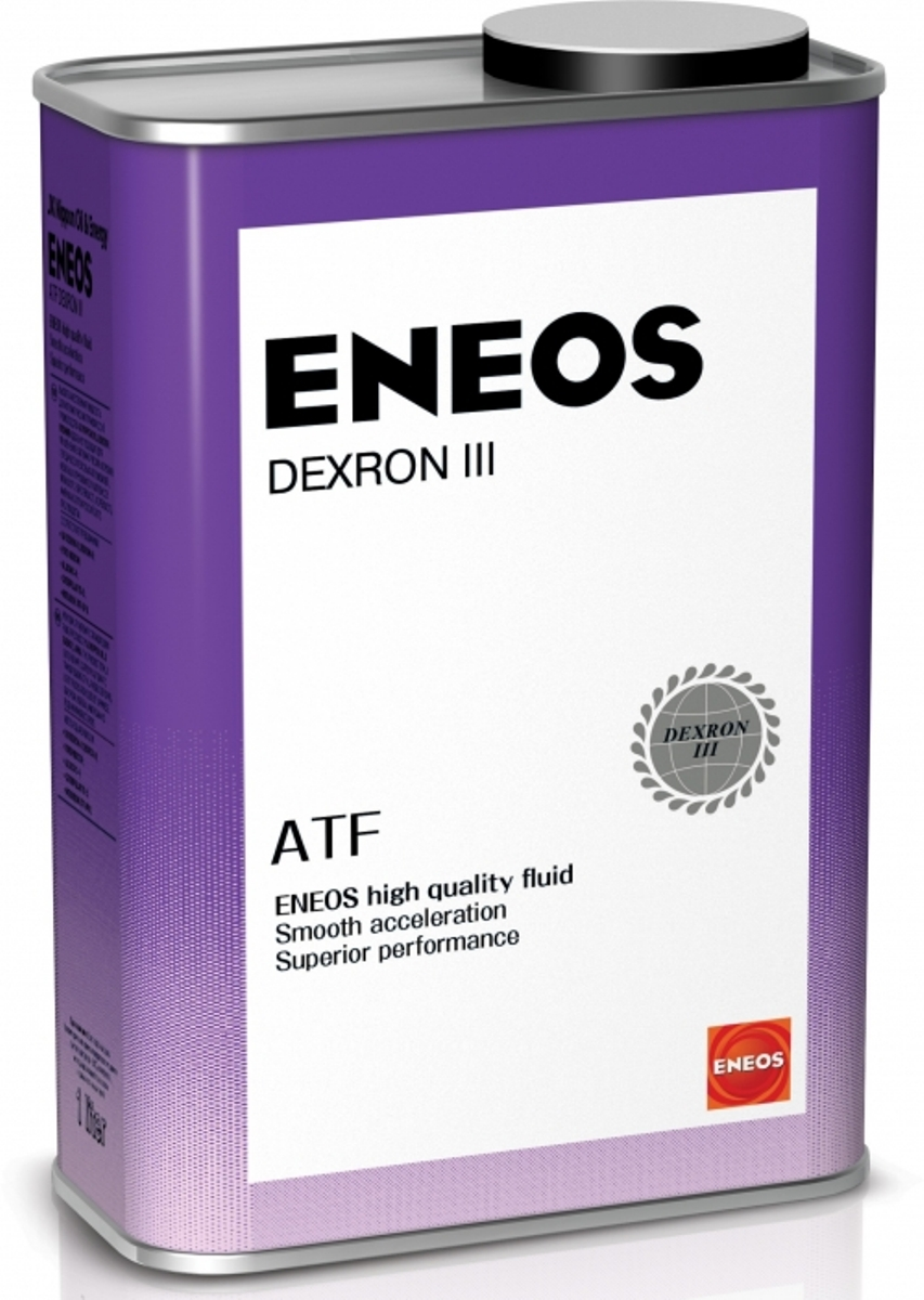 Масло трансмиссионное ENEOS ATF Dextron-III, для АКПП, синтетическое, 4 лoil1309ENEOS Dexron III используется в Step-tronic, Tip-tronic, автоматических коробках передач и в системах гидроусилителя руля современных автомобилей. Пригодна для большинства трансмиссий с сервоприводом, систем гидроусилителя руля и гидроприводов. Соответствует самым последним требованиям ведущих мировых производителей Dexron компании GM. Обеспечивает плавное переключение передач в широком диапазоне температур. Всесезонная жидкость высочайшего качества для автоматических коробок передач, в том числе с антипробуксовочной блокировкой.