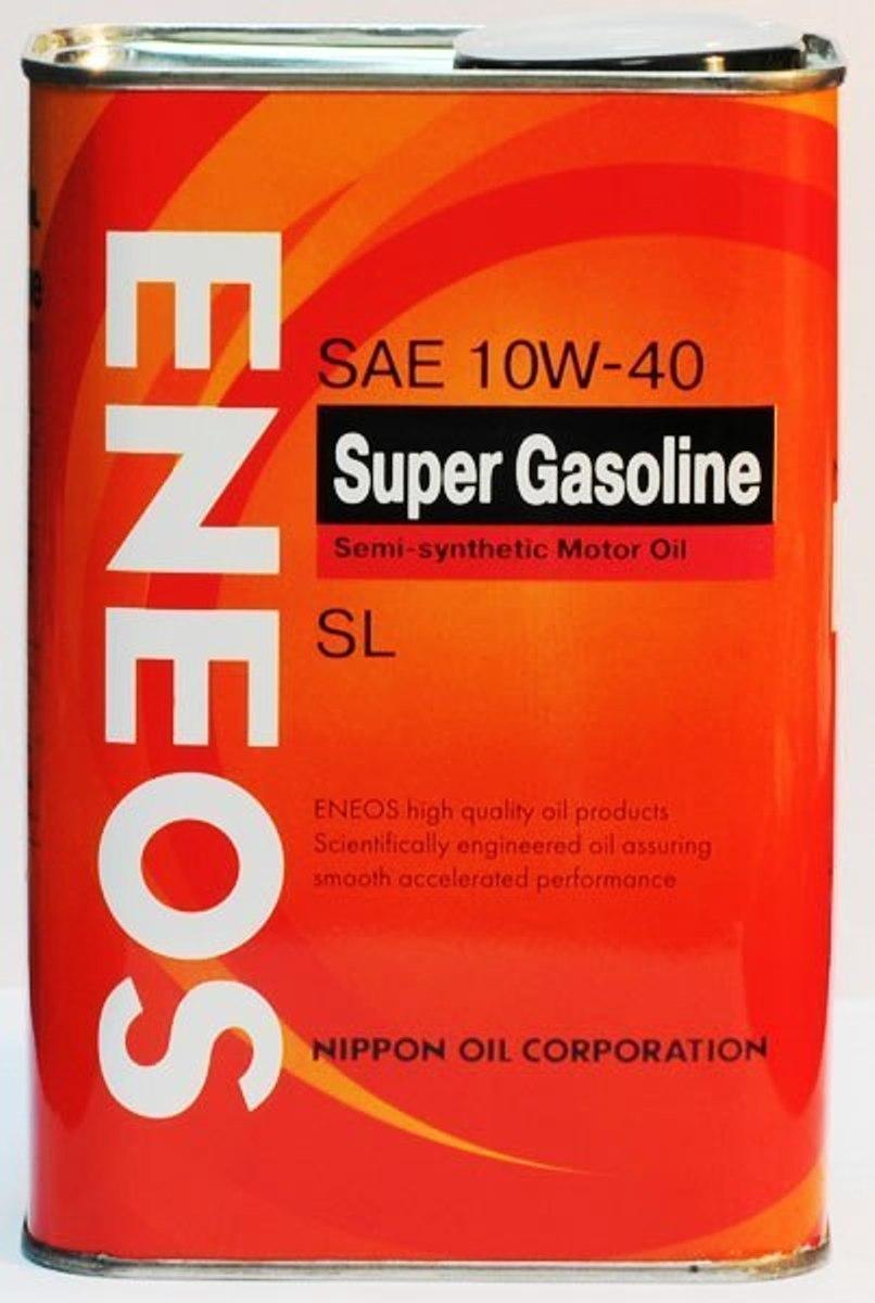 Масло моторное ENEOS Super Gasoline, полусинтетическое, 10W-40, 0,94 лoil1354Масло ENEOS Semi-Synthetic - полусинтетическое моторное масло, обеспечивает надежную защиту и увеличивает моторесурс двигателя. Оно рекомендуется для применения в четырехтактных бензиновых двигателях легковых машин, микроавтобусах, малотоннажных автофургонах и внедорожниках, включая двигатели с турбонаддувом и многоклапанные двигатели.