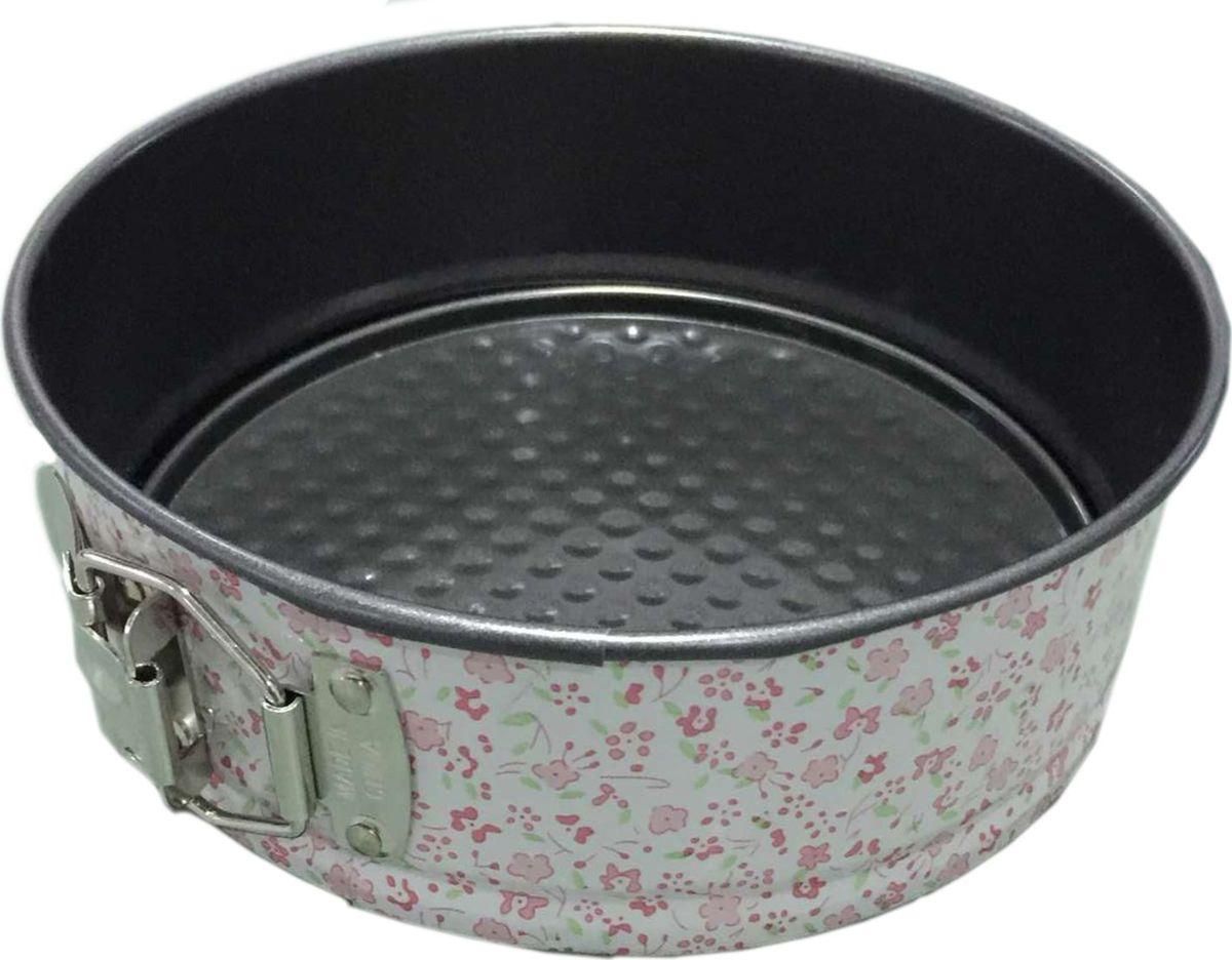 Форма для выпечки Irit, круглая, цвет: черный, 20 х 20 х 6,5 смIRH-926Круглая форма для выпечки изготовлена из листового железа. Стойкое к истиранию антипригарное покрытие. Подходит для использования в газовых и электрических духовках. Можно мыть в посудомоечной машине.