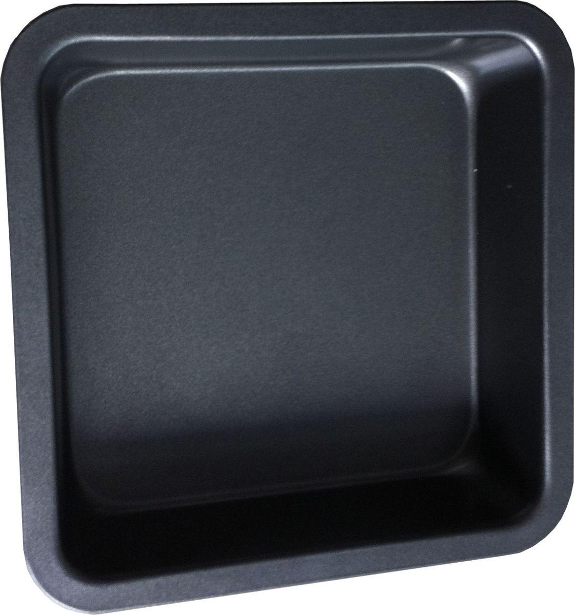 Форма для выпечки Irit, прямоугольная, цвет: черный, 22,5 х 22,5 х 4,8 смIRH-927Форма для выпечки Irit изготовлена из листового железа. Форма имеет стойкое к истиранию антипригарное покрытие GOLDFLON. Подходит для использования в газовых и электрических духовках. Можно мыть в посудомоечной машине.