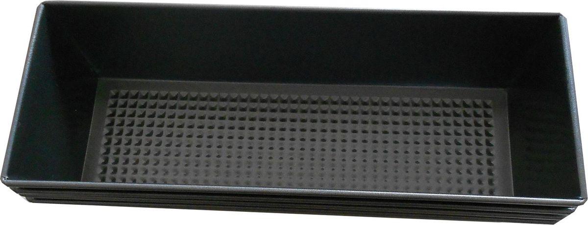 Форма для выпечки Irit, прямоугольная, цвет: черный, 31 х 11,5 х 7,2 смIRH-932Форма для выпечки изготовлена из листового железа. Стойкое к истиранию антипригарное покрытие GOLDFLON. Подходит для использования в газовых и электрических духовках. Можно мыть в посудомоечной машине.