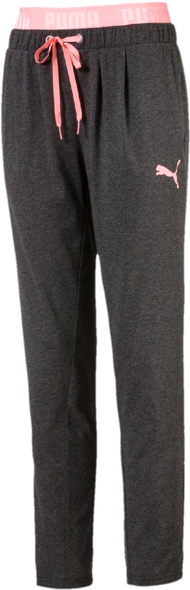 Брюки спортивные женские Puma Active Ess Bd Drapey Pants, цвет: темно-серый. 59357708. Размер XS (40/42)