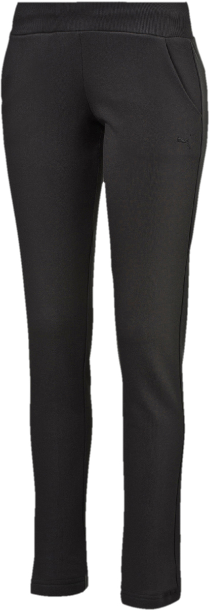 Брюки спортивные женские Puma ESS Sweat pant TR W, цвет: черный. 838430011. Размер XL (48/50) брюки спортивные puma puma pu053ewutk21