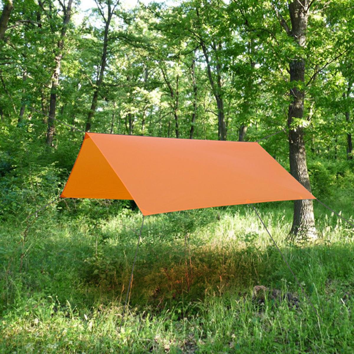 Тент Сплав Cowl, цвет: оранжевый, 2,7 x 3 м5052775Габариты и вес: Размер (ДхШ): 270х285 см Размеры в упакованном виде (ДхШхВ): 22х10х10 см Вес с упаковкой: 447 г Вес без упаковки: 437 г Материал: Nylon 30D*30D Ripstop Si/Si 2000 мм Плотность материала: 45 г/м2 Двухстороннее силиконовое покрытие Внимание оттяжки в комплект не входят! Для установки рекомендуется использовать веревку