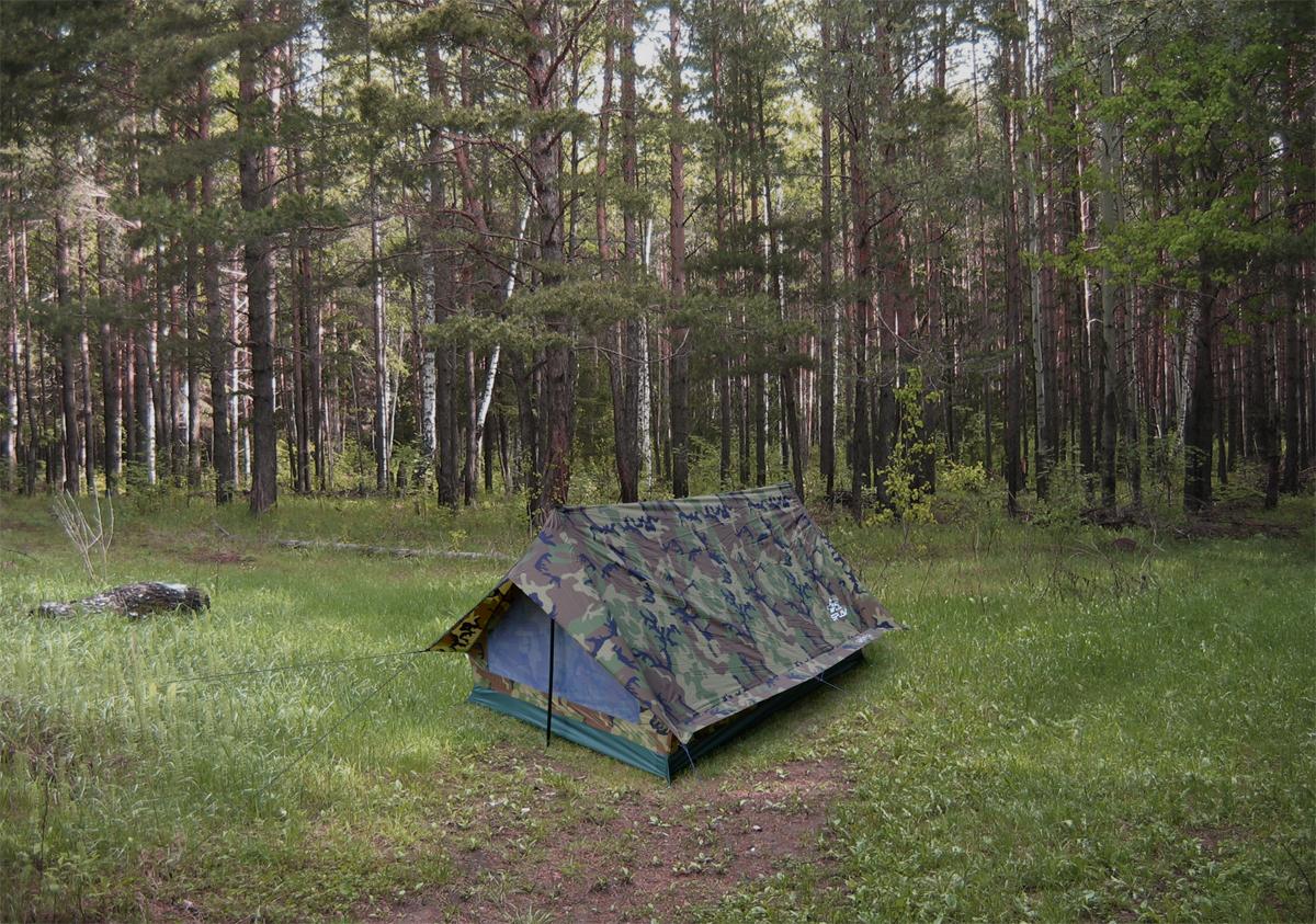 Палатка камуфлированная Сплав