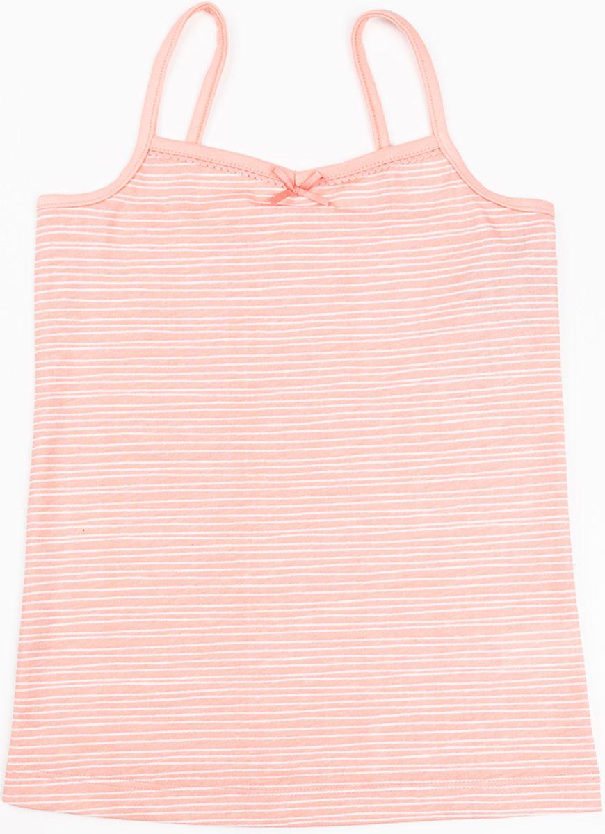 Майка для девочки Mark Formelle, цвет: коралловый. 2782-0. Размер 1222782-0(коралловый)