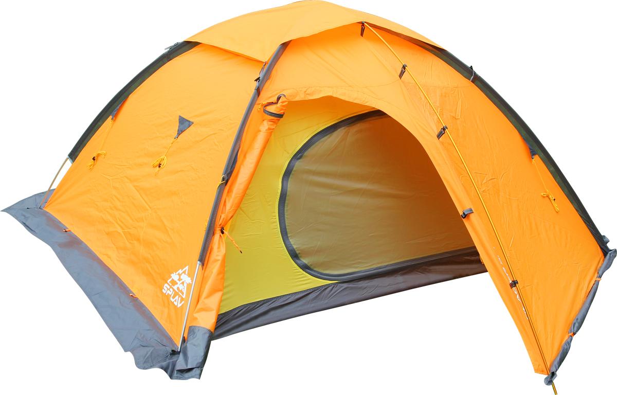 Палатка Сплав Glacier 3M, 3-местная, цвет: оранжевый