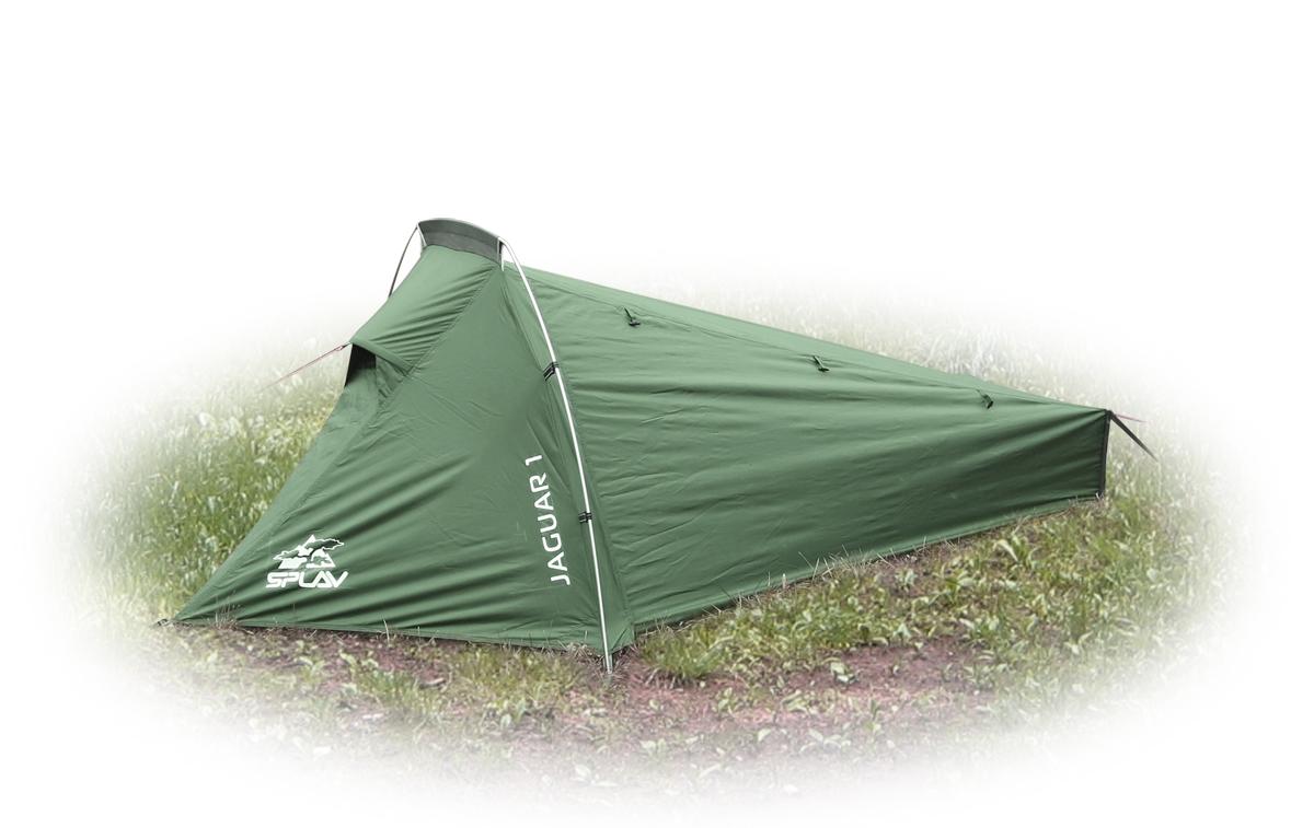 Палатка Сплав Jaguar 1, цвет: зеленый5058550Легкая трекинговая палатка на одной внешней дуге обеспечивающая максимальный комфорт при минимальном весе Максимально быстрая в установке палатка. Для простой установки потребуется всего три колышка Тент и палатка могут устанавливаться одновременно Возможна установка отдельно тента без внутренней палатки Вентиляция внутренней палатки продублирована противомоскитной сеткой Стойки с торца палатки обеспечивают равномерное натяжение тента и улучшают обитаемость внутренней палатки Дополнительное вентиляционное окно в ногах, обеспечивает хорошую проточную вентиляцию внутреннего объема Веревки оттяжек имеют вплетенную светоотражающую нить Швы тента и дна проклееныСезонность: 3 Количество мест: 1 Количество дуг: 1 Габариты и вес: Размеры внешней палатки, тента (ДхШхВ): 255х140х90 см Размеры спального места (ДхШхВ): 240х90/50х80 см Размеры в упакованном виде (ДхШхВ): 42х15х15 см Полный вес: 1,58 кг Минимальный вес (без чехла и колышков): 1,42 кг Материалы: Внешний тент: Polyester 75D/190T PU 5000 мм Внутренняя палатка: Polyester 68D/190T R/S W/R Дно: Polyester 190T PU 7000 мм W/R Дуги: Алюминиевый сплав 7001 T6 O8,5 мм Фурнитура: Duraflex