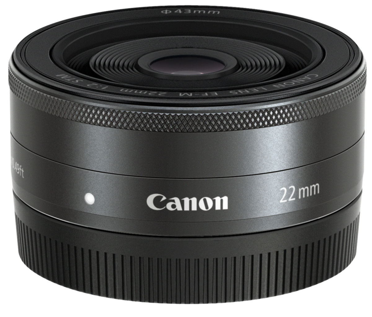 Canon EF-M 22 mm 2.0 STM, Black объектив - Объективы