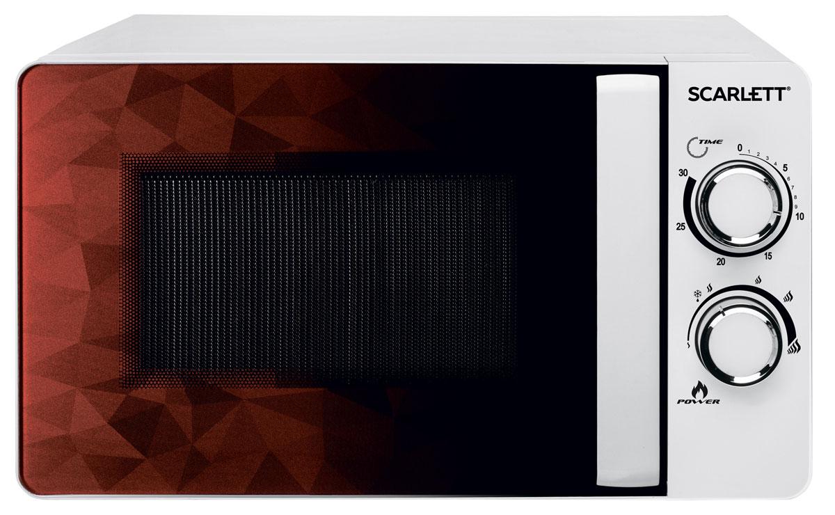 Scarlett SC-MW9020S04M микроволновая печьSC - MW9020S04MМощность 700 ВтОбъем 20 лПростое понятное механическое управление6 режимов тепловой обработкиФункция разморозкиВращающееся блюдо диаметром 245 ммТаймер на 30 минут со звуковым сигналомЖаропрочное покрытие