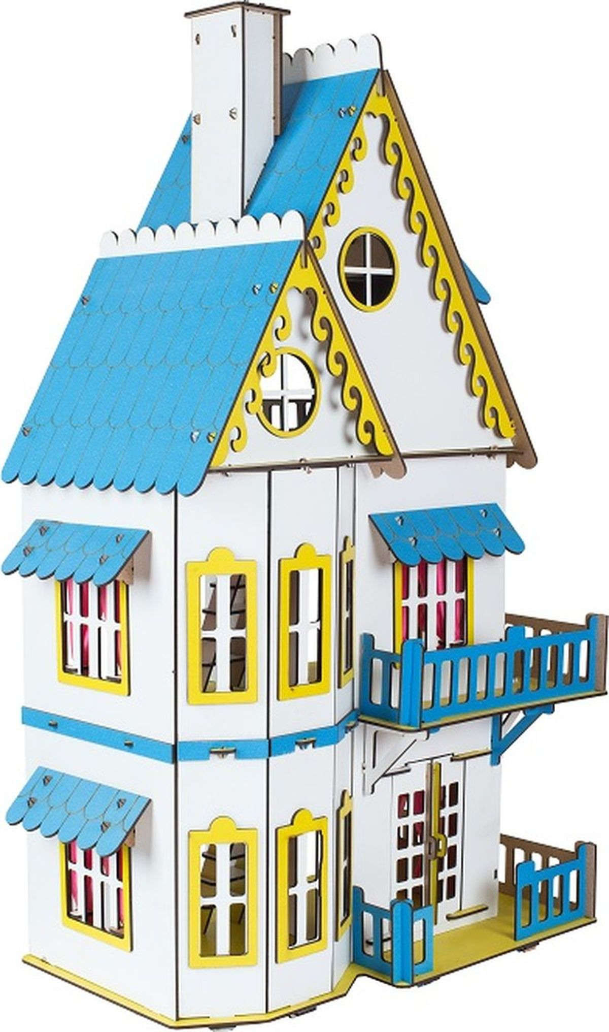 Большой слон Конструктор Кукольный домик цвет белый фигурки игрушки большой слон кукольный театр красная шапочка