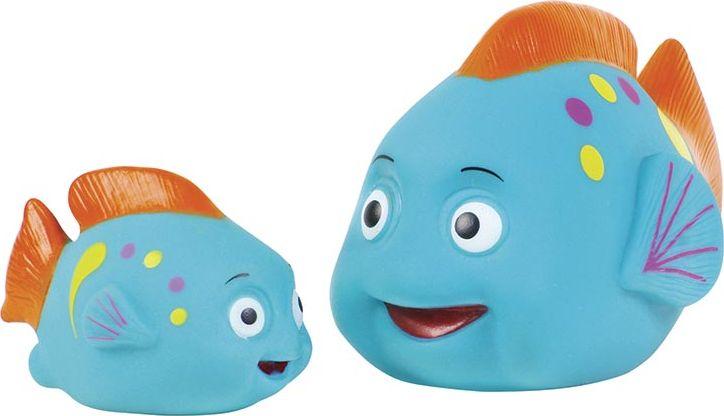 ПОМА Набор игрушек для ванной Плавать вместе веселей 2 шт жирафики набор игрушек для ванной лошадка и свинка