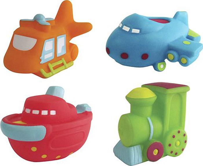 ПОМА Набор игрушек для ванной Транспорт-2 4 шт игрушки для зимы росигрушка песочный набор транспорт 3 л дорожный патруль