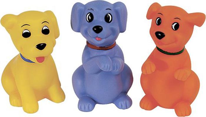 Фото - ПОМА Набор игрушек для ванной Веселые Щенки 3 шт игрушки для ванны пома набор кубиков учим цвета 3 шт