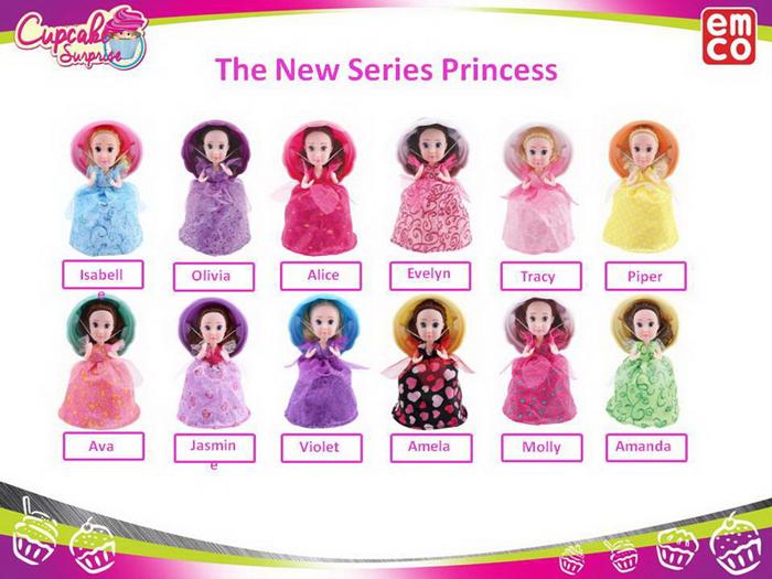 Emco Мини-кукла Cupcake Surprise Новая волна odesza singapore