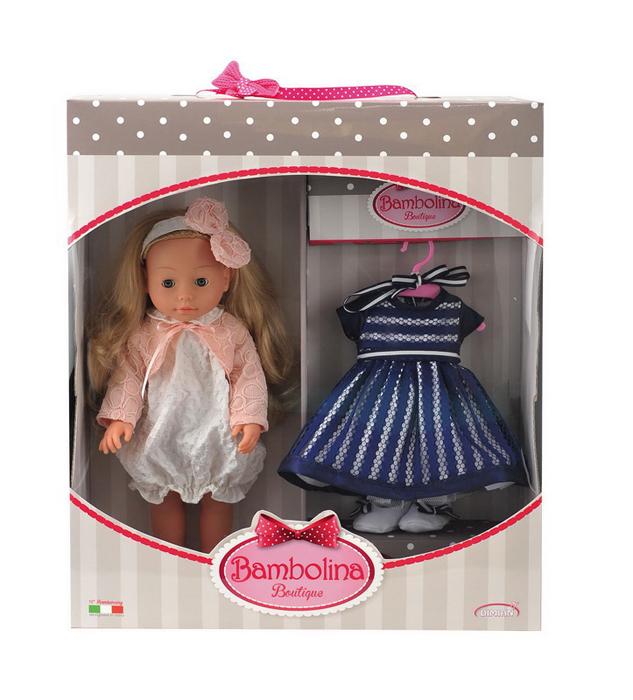 Dimian Кукла Bambolina Boutique Модница bambolina кукла boutique цвет одежды розовый 40 см