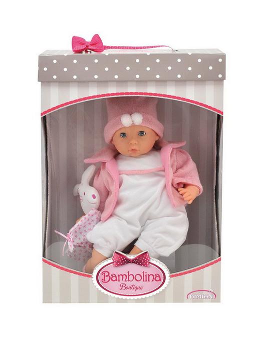 Dimian Кукла Bambolina Boutique bambolina кукла boutique цвет одежды розовый 40 см