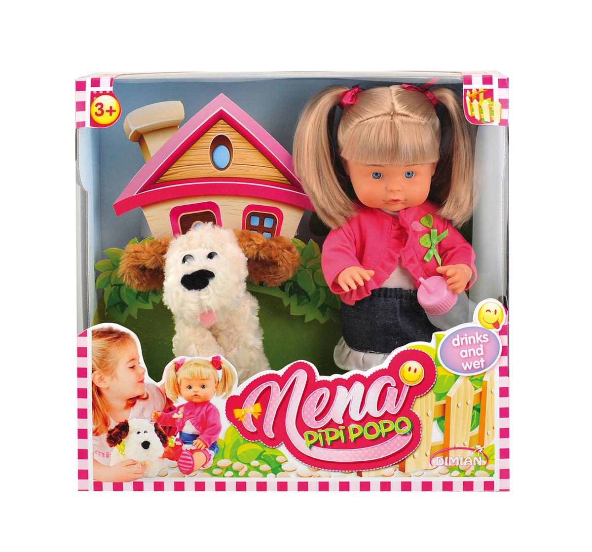 Dimian Игровой набор с куклой Nena Bambolina nena oldenburg