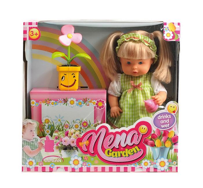 Dimian Игровой набор с куклой Baby Nena кукла весна 35 см
