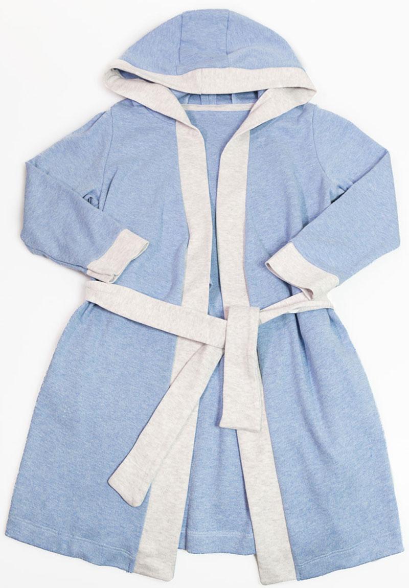 Халат для мальчика Mark Formelle, цвет: голубой. 2491-2. Размер 1342491-2(голубой)