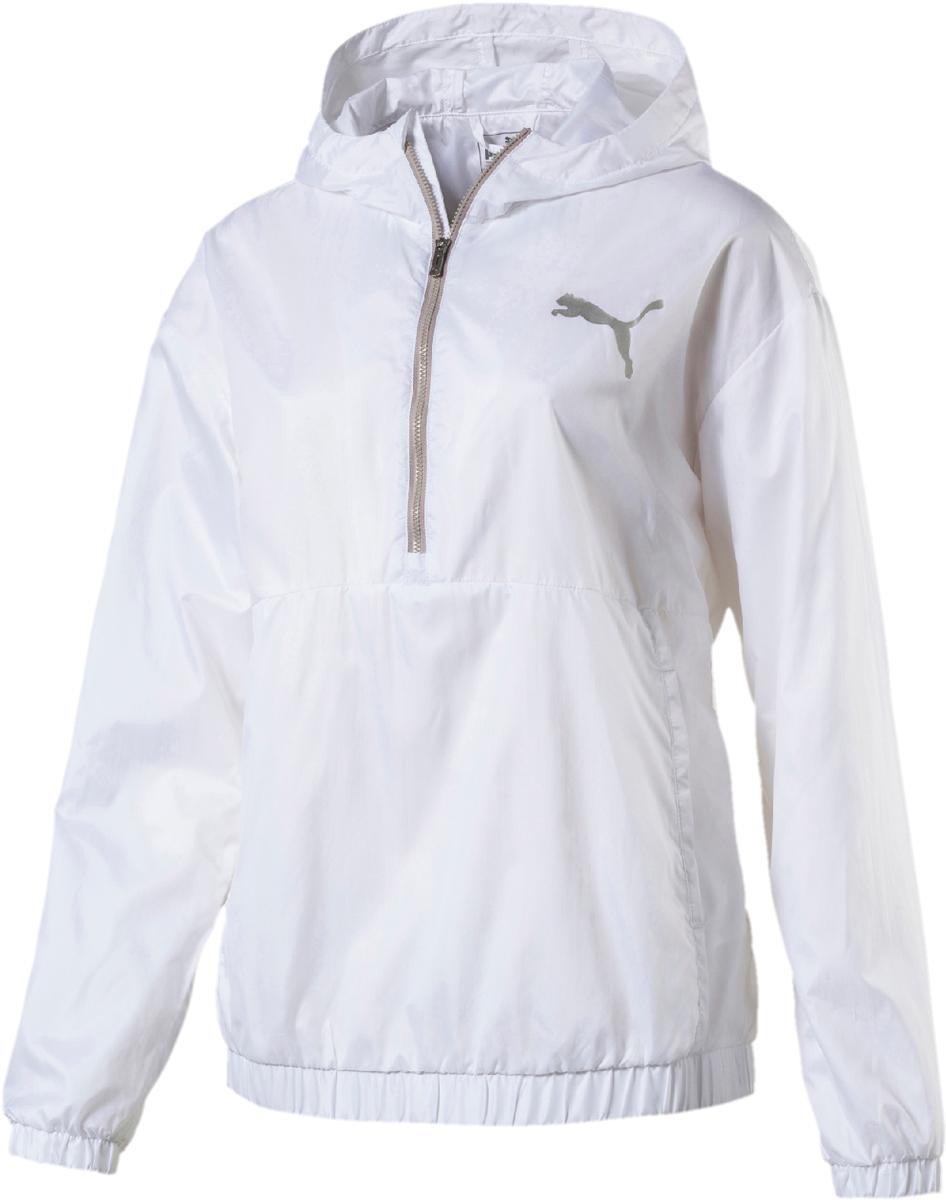 Ветровка женская Puma Spark 3 4 zip, цвет: белый. 51642002. Размер S (42/44) iridium spark plugs 4 pack