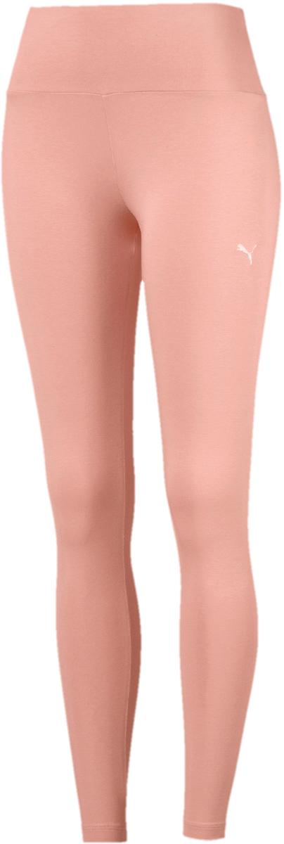 Леггинсы женские Puma Athletic Legging, цвет: персиковый. 85015531. Размер S (42/44)85015531Леггинсы Puma выполнены из эластичного хлопка и декорированы прорезиненным логотипом бренда. Высокий пояс подчеркивает достоинства женской фигуры, удобно охватывает талию и обеспечивает комфорт во время тренировки. Модель облегающего кроя не стесняет движения.