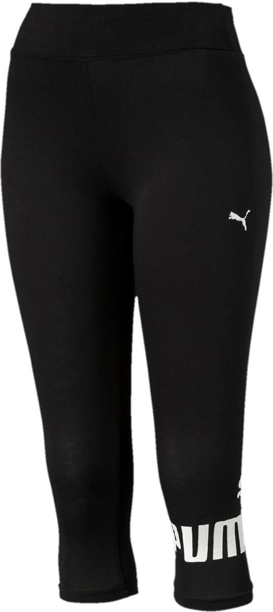 Леггинсы женские Puma ESS 3 4 No.1 Leggings W, цвет: черный. 83842001. Размер S (42/44) intel pentium g2020 2 9g 1u network firewall router with six intel pci e 1000m 82574l gigabit lan mikrotik ros etc 2g ram 8g ssd