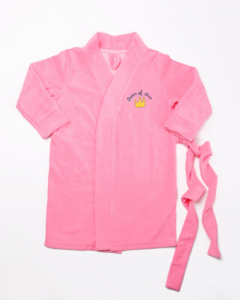 Халат для девочки Mark Formelle, цвет: розовый. 1247-3-2. Размер 1101247-3-2(розовый)