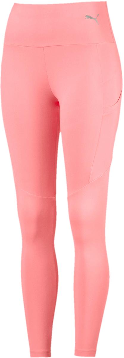 Леггинсы женские Puma Transition Legging, цвет: коралловый. 59507828. Размер XL (48/50)
