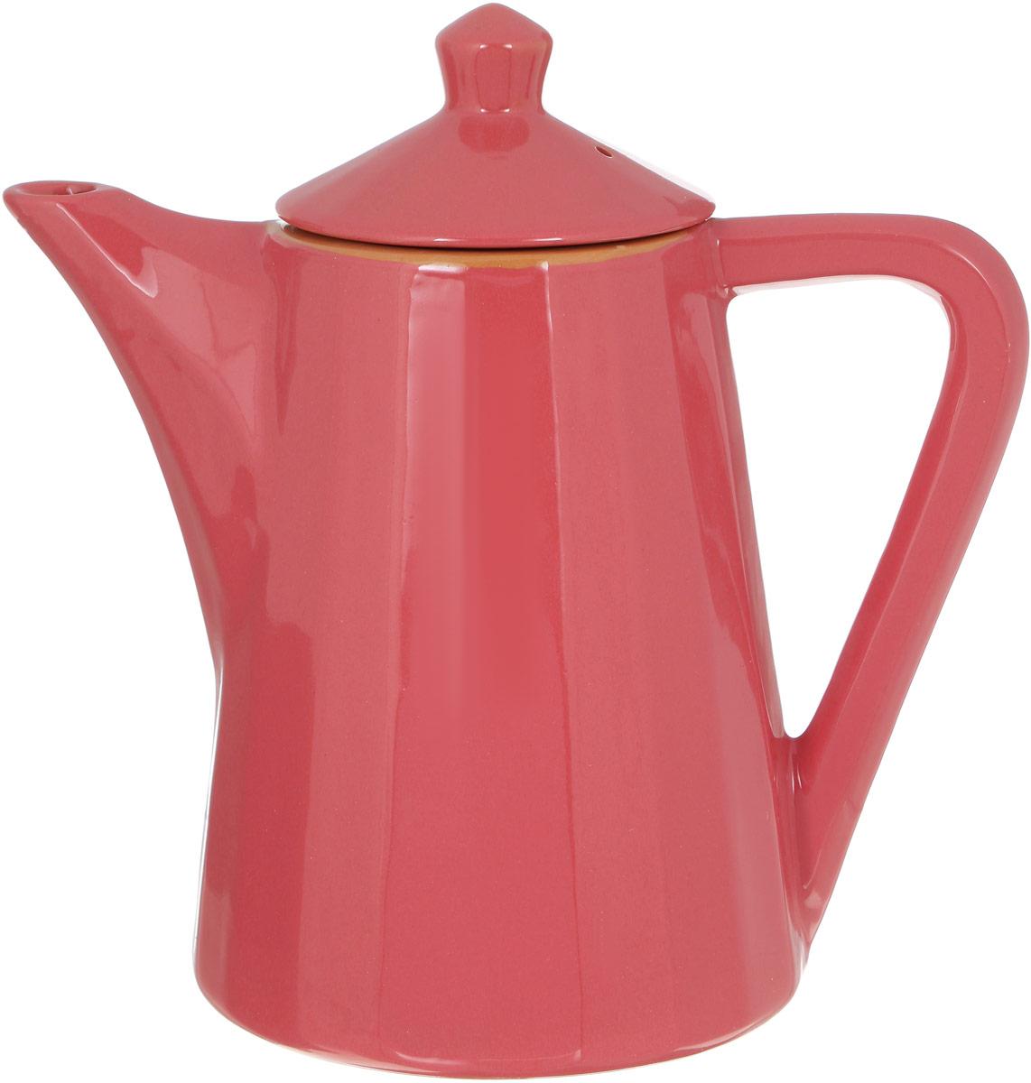 Чайник заварочный Борисовская керамика Ностальгия, цвет: розовый, 800 млРАД14458176_розовыйЗаварочный чайник Борисовская керамика Ностальгия изготовлен из высококачественной керамики и имеет глазурованное покрытие. Благодаря такому материалу чай дольше сохраняет свою температуру. Изысканный дизайн придется по вкусу и ценителям классики и тем, кто предпочитает современный стиль.Объем: 800 мл.