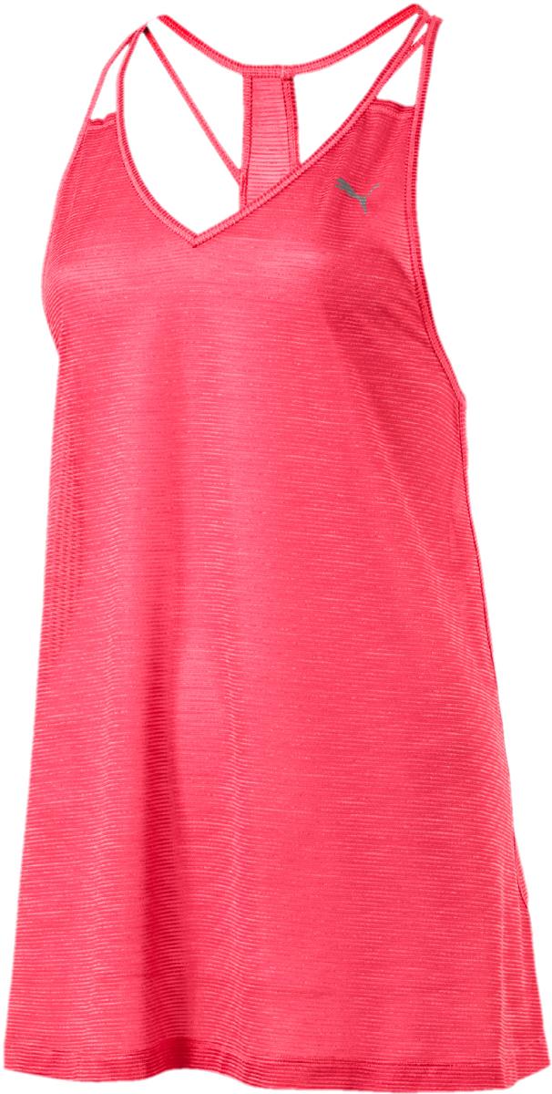 Майка женская Puma Mesh It Up Layer Tank, цвет: розовый. 51641702. Размер XL (48/50) футболка puma футболка essential graphic layer tank