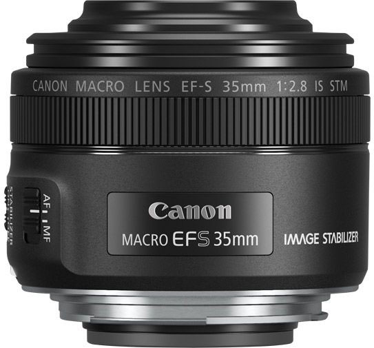 Canon EF-S 35 mm 2.8 Macro IS STM, Black объектив - Объективы