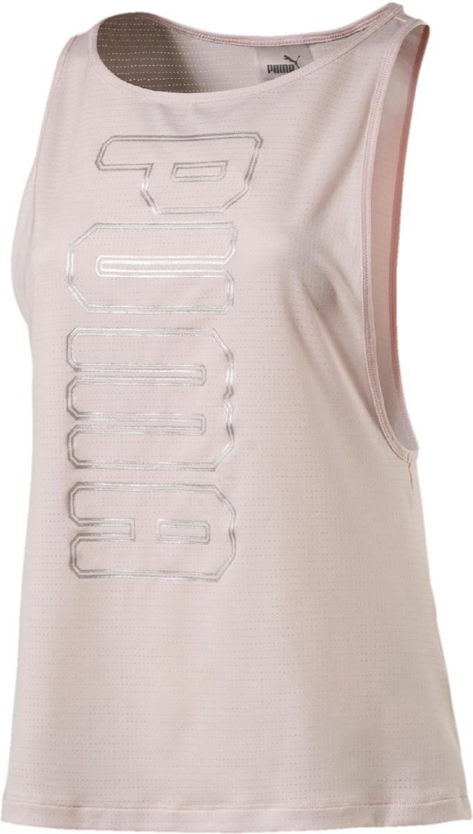Купить Майка женская Puma Spark Tank, цвет: светло-розовый. 51641911. Размер S (42/44)