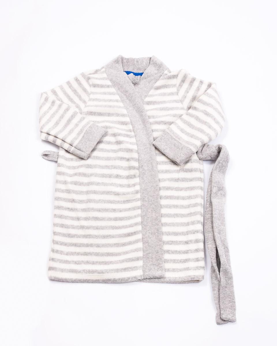 Халат для девочки Mark Formelle, цвет: серый. 1806-3. Размер 981806-3(серый)