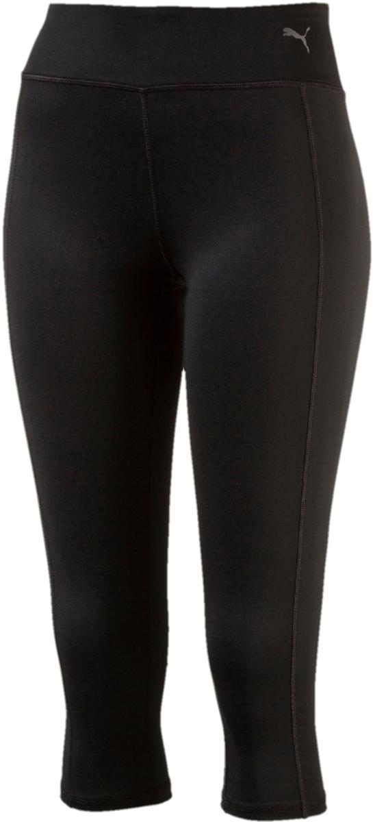 Тайтсы женские Puma Essential 3/4 Tight, цвет: черный. 51514301. Размер XS (40/42)