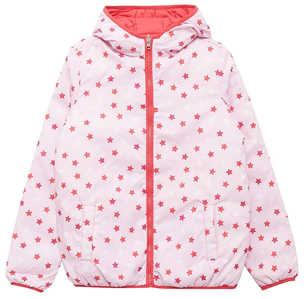 Куртка для девочек United Colors of Benetton, цвет: розовый. 2XD853BS0_903. Размер 150