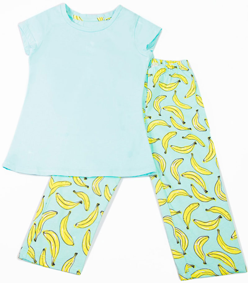Пижама для девочки Mark Formelle, цвет: бирюзовый. 259-0. Размер 122
