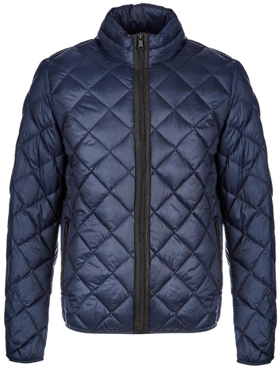 Куртка мужская United Colors of Benetton, цвет: синий. 2GK353A38_06U. Размер 482GK353A38_06U