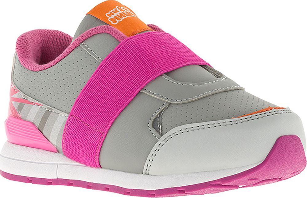 Кроссовки для девочки Kakadu Ми-ми-мишки, цвет: серый. 7252D. Размер 287252DСтильные кроссовки от Kakadu с изображением персонажа мультсериала Ми-ми-мишки. Такими яркими и стильными кроссовками ваш ребенок точно будет гордиться! Помимо привычных уже в обуви Kakadu анатомической стельке, суперлегкой подошвы и натуральной хлопковой подкладки у этих кроссовок есть своя, особенная фишка - широкая резинка, заменяющая шнурки и позволяющая одним движением обуть ребенка.