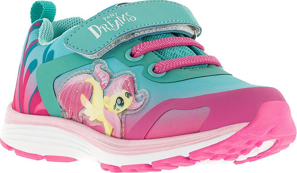 Кроссовки для девочки Kakadu My Little Pony, цвет: голубые. 7253B. Размер 307253BПодсводник, Облегченная подошва, Съемная стелька, Анатомическая стелька, Хлопковая подкладка