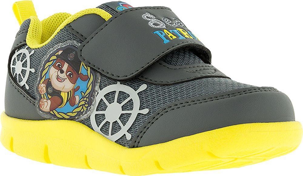 Кроссовки для мальчика Kakadu Paw Patrol, цвет: серые. 7262A. Размер 267262AПодсводник, Облегченная подошва, Съемная стелька, Анатомическая стелька, Хлопковая подкладка