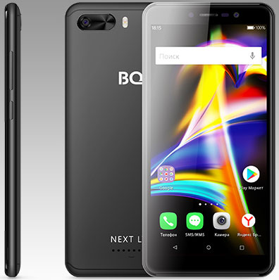 BQ 5508L Next LTE, Black
