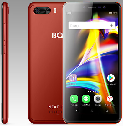 BQ 5508L Next LTE, Red