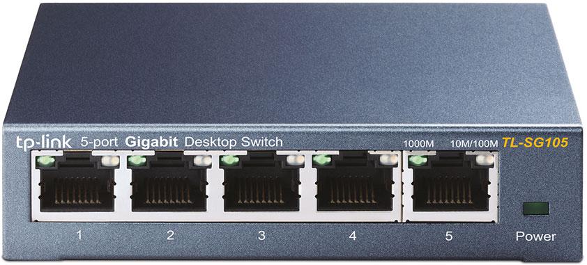TP-LINK TL-SG105 коммутатор (5 портов) tp link tl wn851n 300m беспроводная pci карта