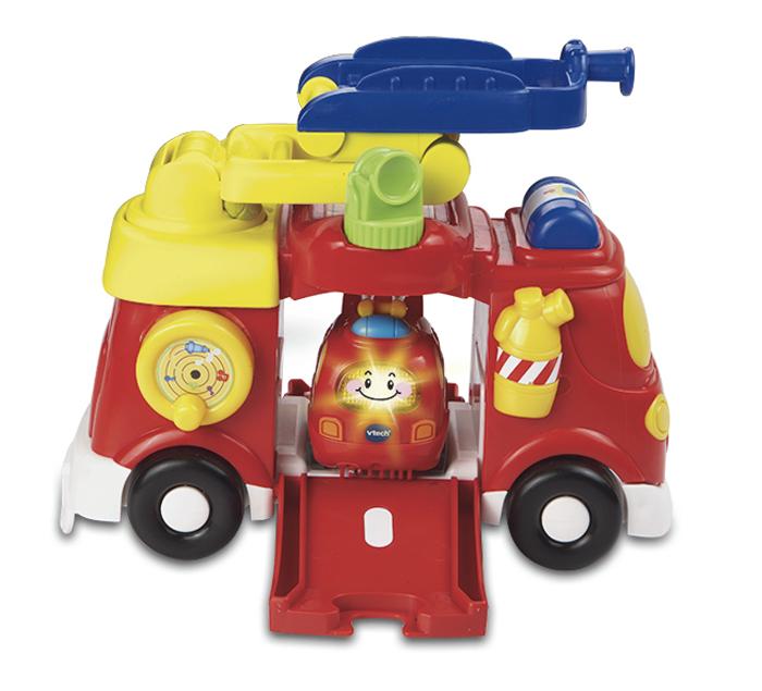 Vtech Бип-Бип Toot-Toot Drivers Пожарная машина 80-151326 машинки siku пожарная машина с лестницей