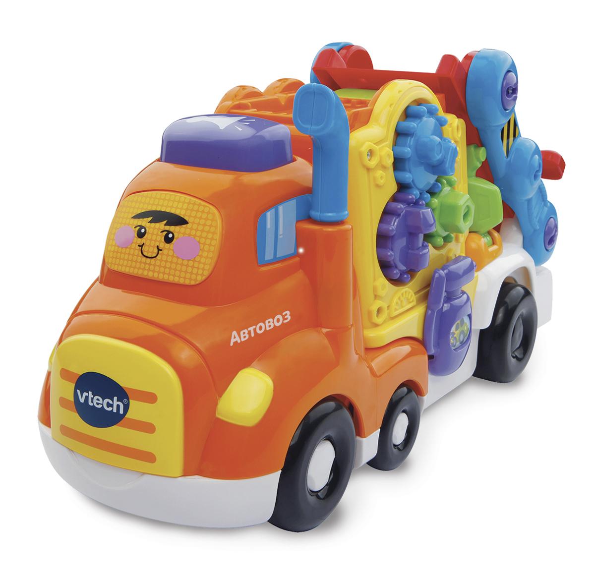 Vtech Бип-Бип Toot-Toot Drivers Автовоз игрушка vtech бип бип бульдозер 80 151826