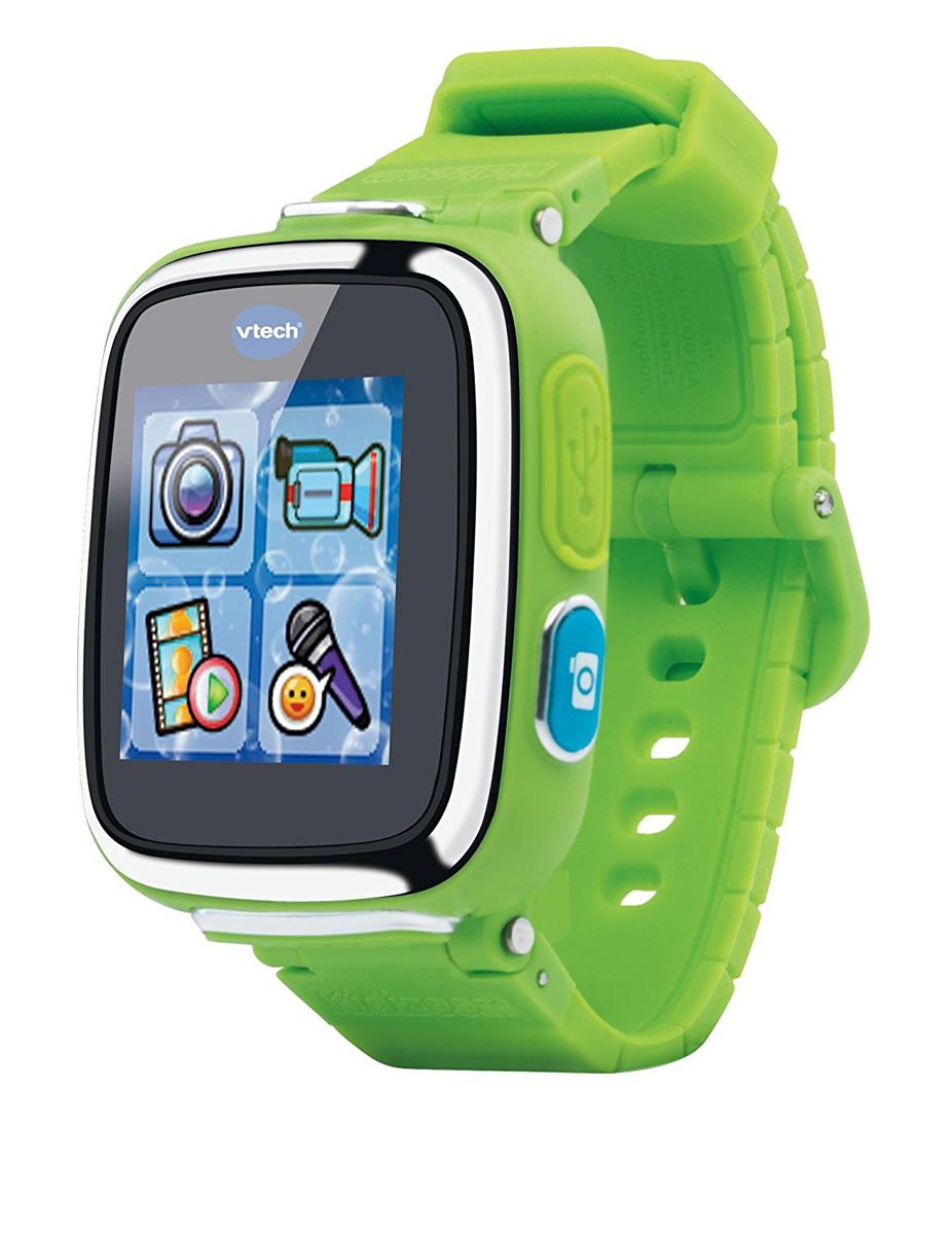 Vtech Детские наручные часы Kidizoom SmartWatch DX цвет зеленый - Интерактивные игрушки